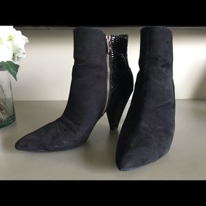 J Renee Cally Ankle Boots, Size 7
